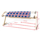 Grace EZ3 Fabri-Fast Hand Quilting Frame - adjustable to 3 sizes