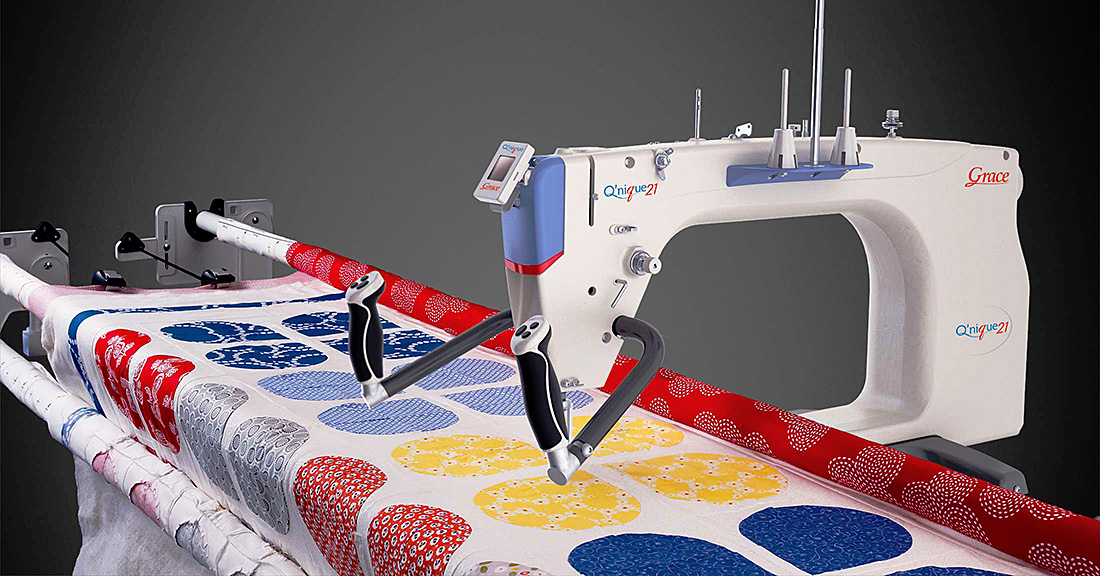 Q'nique 21 Long Arm Quilting Machine