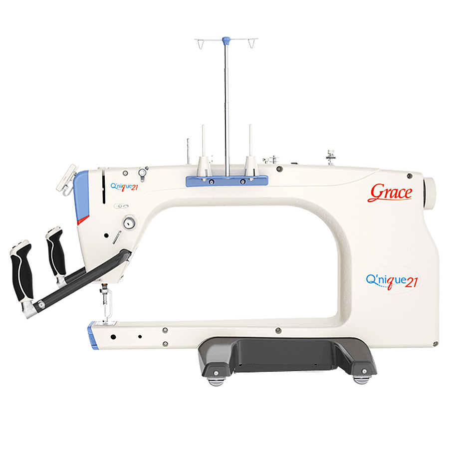Qnique 21inch Long Arm Quilting Machine With Optional Quilting Frame or Table