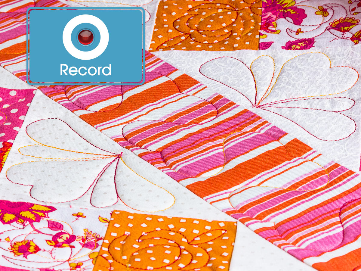 Record Free–Motion Quilting