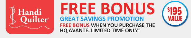 FREE BONUS PACKAGE value: $195
