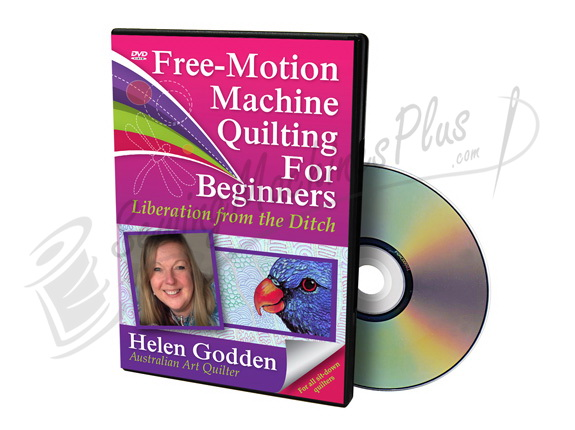 Free-Motion Machine Quilting for Beginners DVD