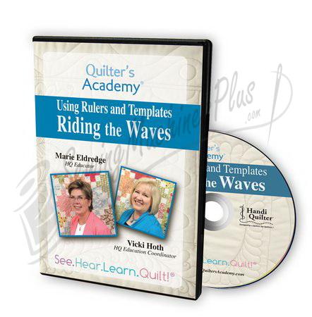 Riding the Waves: Using Handi Gadget's Wave Templates DVD : handi gadgets quilting - Adamdwight.com