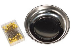 Handy Helpers 4in. Magnetic Pin Bowl with Pins