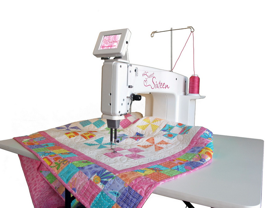 Handi Quilter Sweet Sixteen Sit Down Quilting Table More