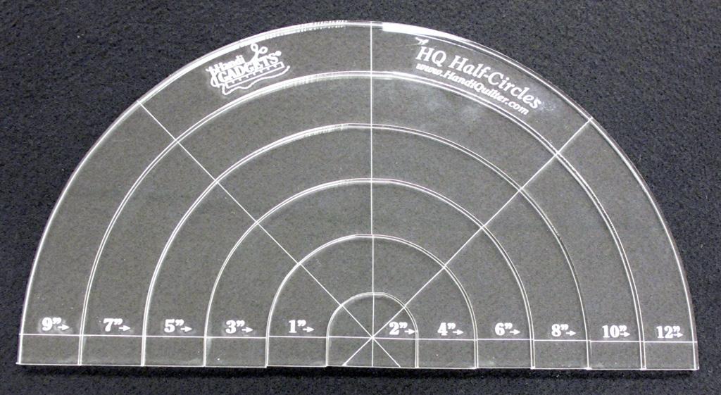 Handi Quilter Half Circle Templates