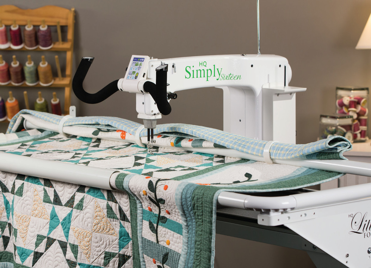 Handi Quilter Long Arm Quilter Simply Sixteen Quilter