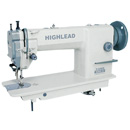 Photo of Highlead GC0318-1 Lockstitch Sewing Machine w/ Top & Bottom Feed  (Assembled) from Heirloom Sewing Supply