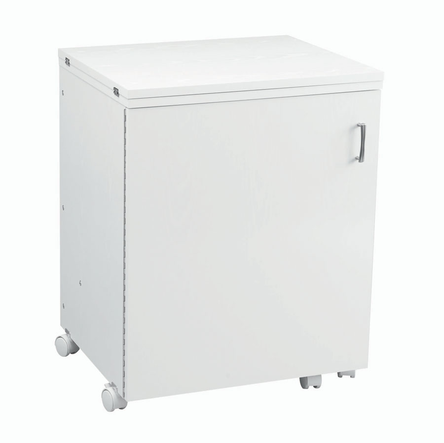 Compact Sewing Cabinet - White