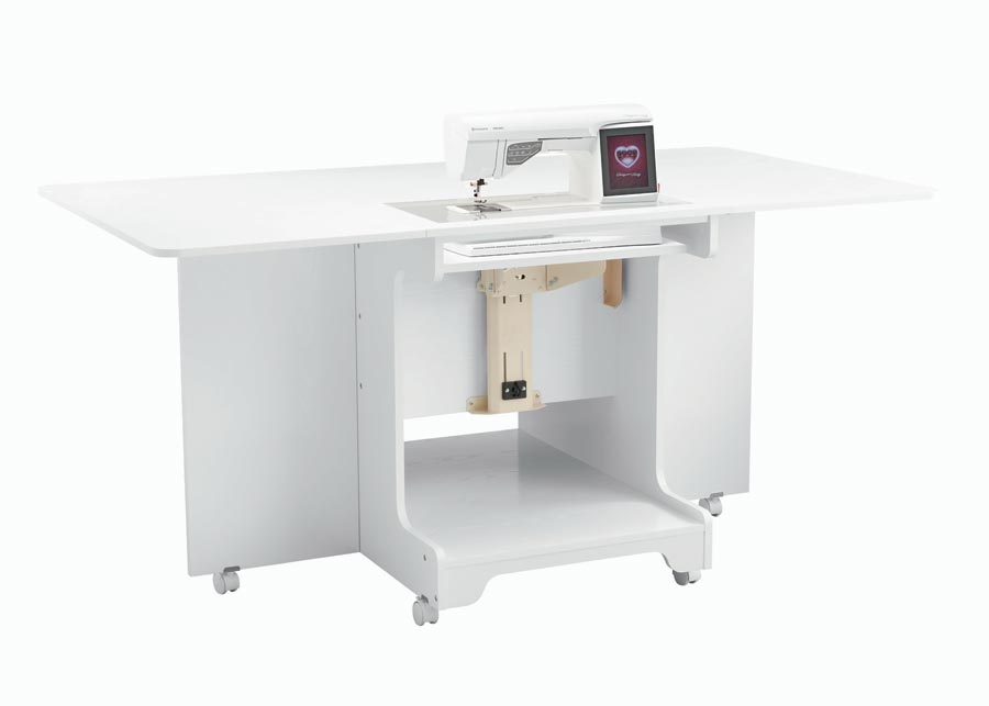 Combo Sewing/ Cutting Table - White