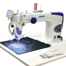 Juki TL-2200 QVP Quilt Virtuoso Pro Long Arm Quilting Machine Sit Down Package