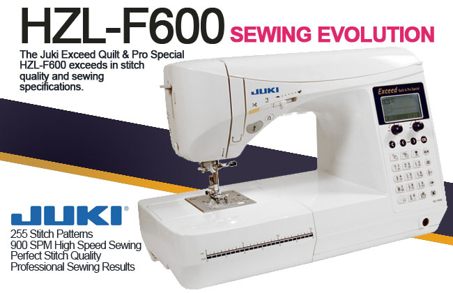 Click for larger view of Juki Exceed HZL-F600