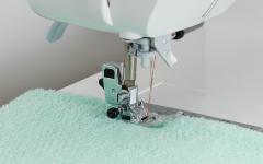 Stitching towel fabrics