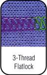 3 Thread Flatlock Stitch