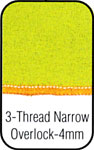 3 Thread Narrow Overlock 4mm