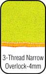 3 Thread Narrow Overlock 4mm