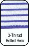 3 Thread Rolled Hem