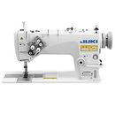 Juki LH-3528A 2-Needle Lockstitch Machine w/ Table & Motor