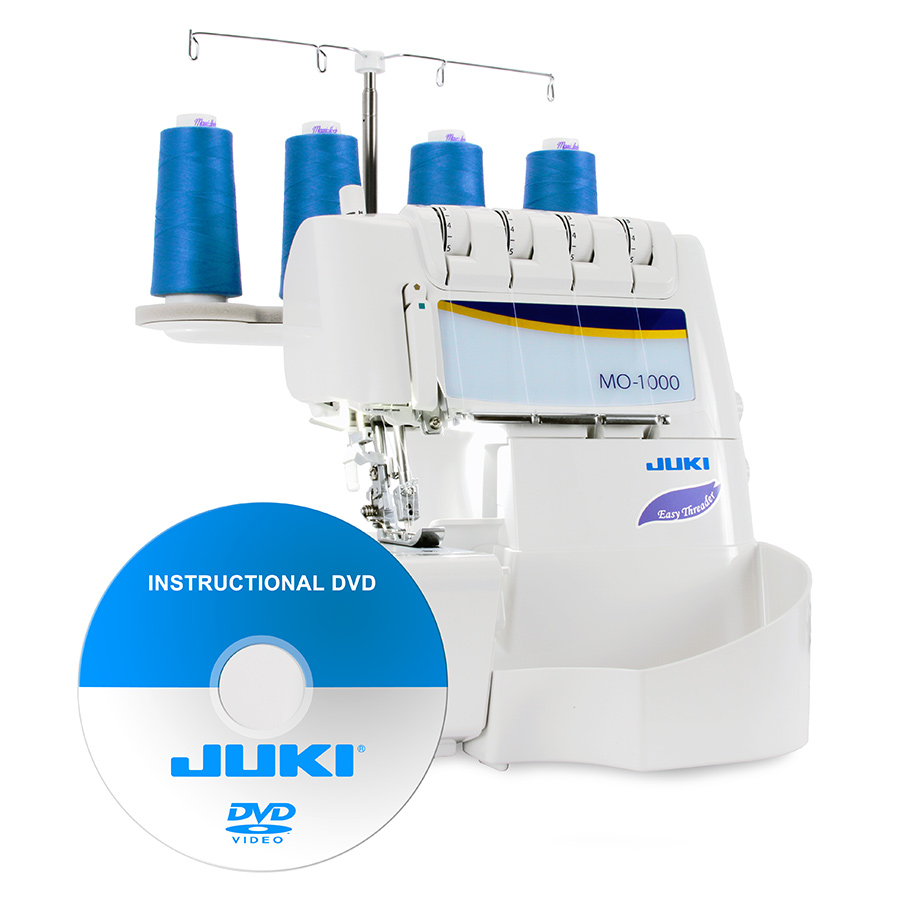 Juki MO-1000 2/3/4 Thread Serger with Air Supported Threading