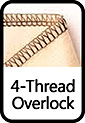 4-Thread Overlock