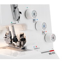 Juki Garnet Line MO-623 1-Needle, 2/3 Thread Serger w/ Instructional DVD