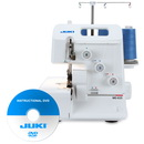 Photo of Juki Garnet Line MO-623 1-Needle 2/3 Thread Serger w/ Instructional DVD from Heirloom Sewing Supply