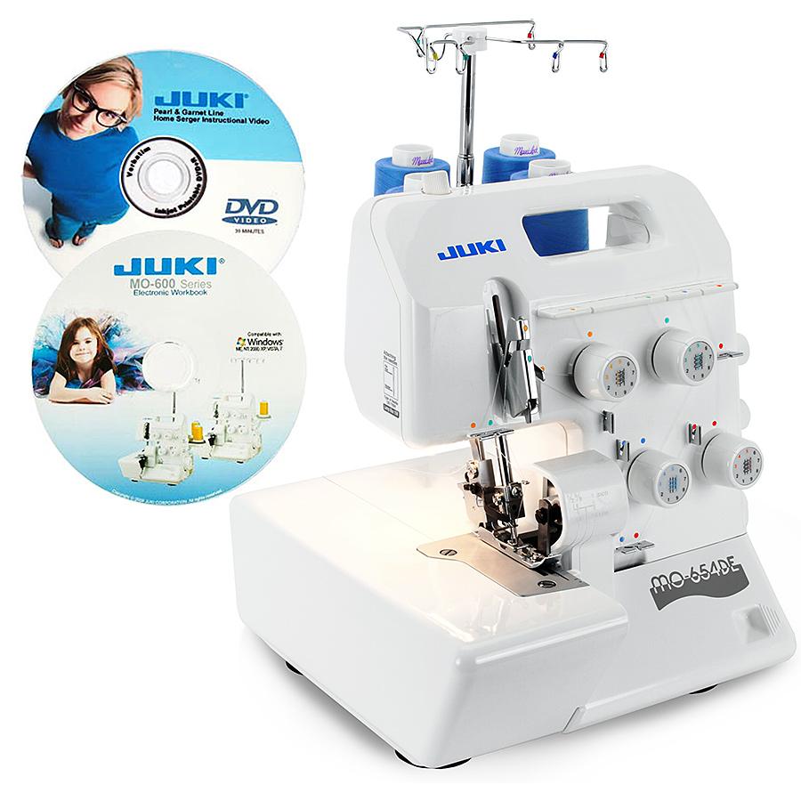 Juki Mo 654de Serger Pearl Line Free Kenmore Sewing Machine Treading Diagrams 2 3 4 Thread