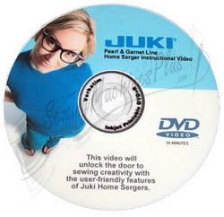 BONUS ITEM! Juki Serger Instructional DVD Video