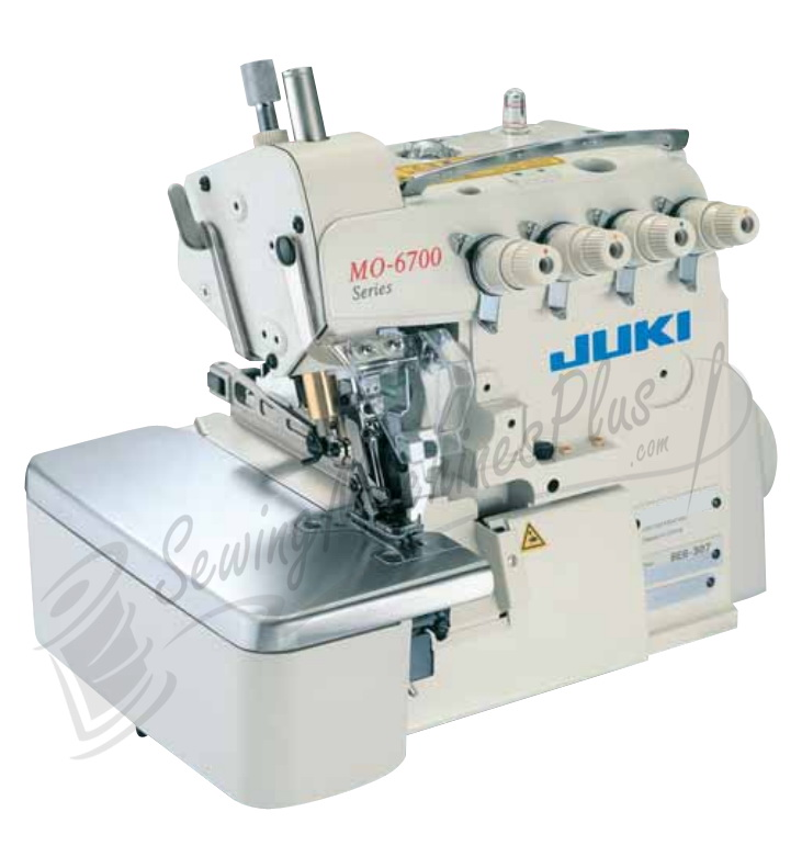 Juki MO6743S 6Thread Serger 4.8mm Overlock +Safety Stitch Serger w/Table and Motor