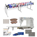 Juki TL-2010Q Long Arm, Grace 8ft Continuum Quilting Frame, Regulator and More