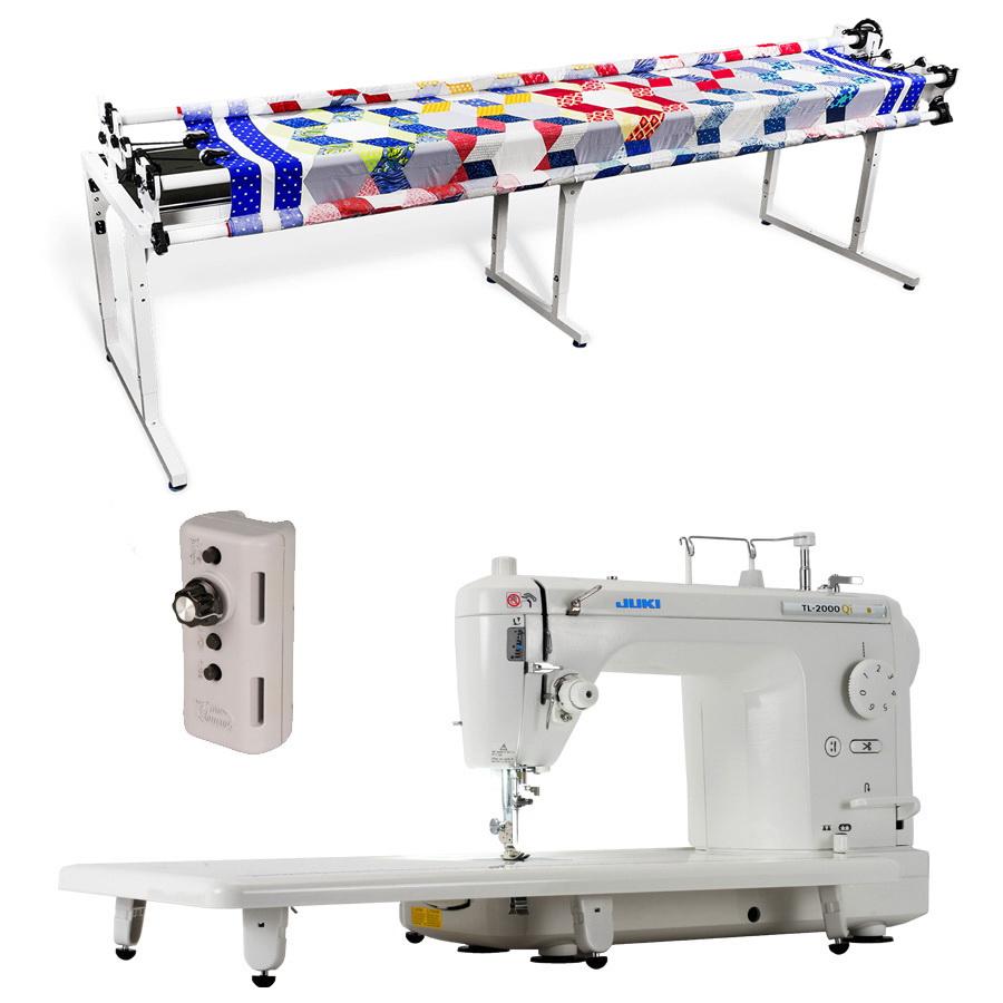 Juki TL-2000QI Quilting Machine | Grace Continuum Quilting Frame