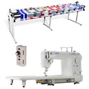 Juki TL-2000Qi Long Arm, Grace 8ft Continuum Quilting Frame & Speed Control
