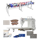 Juki TL-2000Qi Long Arm, Grace Continuum II 8ft Quilting Frame, Stitch Regulator & More