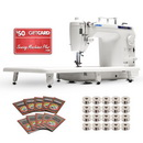 Juki TL-2010Q Long-Arm Sewing & Quilting Machine BONUS PACKAGE