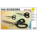 Kai 5000 Series 3 Piece Left Handed Scissors Gift Set (N5210, N5135, N5100)