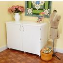 Kangaroo Kabinets Dingo Sewing Storage Cabinet White Ash