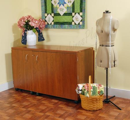 large sewing cabinet kangaroo kabinets k8605. Black Bedroom Furniture Sets. Home Design Ideas