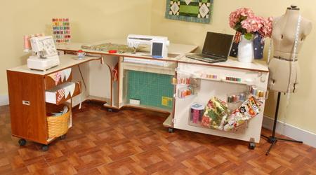 Large Sewing Cabinet | Kangaroo Kabinets K8605