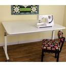 Photo of Kangaroo Kabinets Tasmanian Height Adjustable Sewing Table from Heirloom Sewing Supply