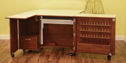 Kangaroo Kabinets Wallaby 2 Sewing Table & Cabinets