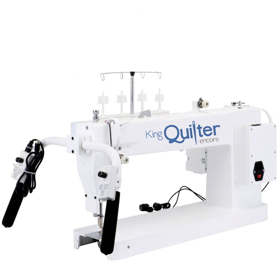 King Quilter Encore 18x8 Inch Long Arm Quilting Machine With Phoenix ...