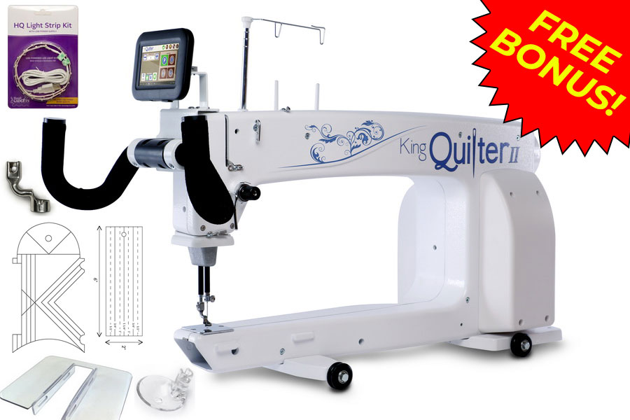 King Quilter II Long Arm Quilting Machine   Sewing Machines Plus