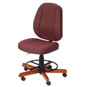 Photo of Koala Sewcomfort Chair Wine Cushion & American Birdseye Maple Base from Heirloom Sewing Supply