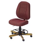 Photo of Koala Sewcomfort Chair Wine Cushion & North American Oak Base from Heirloom Sewing Supply