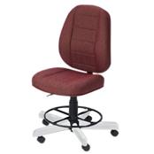 Photo of Koala Sewcomfort Chair Wine Cushion & White Ash Base from Heirloom Sewing Supply