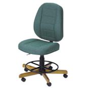 Photo of Koala Sewcomfort Chair Jade Cushion & North American Oak Base from Heirloom Sewing Supply