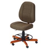 Photo of Koala Sewcomfort Chair Mocha Cushion & American Birdseye Maple Base from Heirloom Sewing Supply