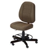 Photo of Koala Sewcomfort Chair Mocha Cushion & African Ebony Base from Heirloom Sewing Supply