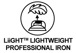 LiiGHT Lightweight Professional Iron