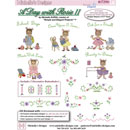Michelles - A Day with Rosie II  Embroidery Designs (#3729D)